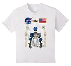 Check this NASA Astronaut Costume Graphic T Shirt . Hight quality products with perfect design is available in a spectrum of colors and sizes, and many different types of shirts! Astronaut Suit, Astronaut Costume, Nasa Usa, Nasa Astronauts, T Shirt Costumes, Branded T Shirts, Types Of Shirts, Funny Shirts, Shirt Style