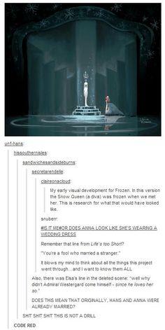 Soooo cool! And also terrible. Because Hans. No.