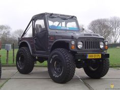 Suzuki LJ80 (A great off-road vehicle actually)