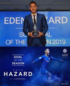 10/05/2019 - Eden Hazard wins Goal of the Season for the stunning goal against Liverpool!