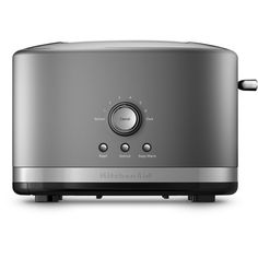 KitchenAid KMT2116CU Contour Silver 2-Slice Toaster with High Lift Lever