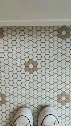 Bathroom Tile Patterns, Neutral Bathroom Tile, Tiled Bathrooms, Marble Tile Bathroom, Bathroom Accent Wall, Bathroom Tile Designs, Boho Bathroom, Bathroom Floor Tiles, Bathroom Inspo