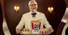 KFC Ads Get Even Weirder with Norm MacDonald As 'Real' Col. Sanders