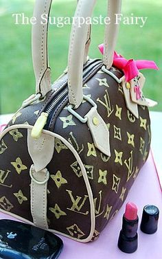 cake - LV handbag @The Sugarpaste Fairy