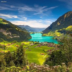 The beautiful Lungern - Switzerland  Picture by @Imeshari by wonderful_places