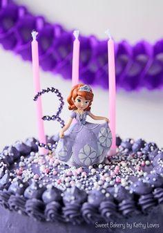 Sofia the First Birthday Cake, Sweet Table, Buttercream Layer Cake, Kids Party, Disney  Sofia die Erste Geburtstag Torte Motivtorte, Kindergeburtstag Motto