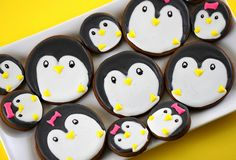 Penguin Gingerbread Cookies II by the-crafty-penguin, via Flickr