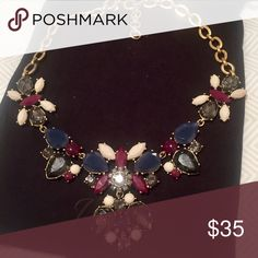 J.Crew statement necklace Simply stunning. Like new. J. Crew Jewelry Necklaces