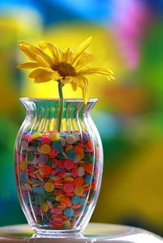 Colorful Bokeh photography.