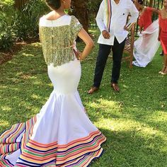 The big day Sepedi Traditional Dresses, Traditional Wedding Attire, African Traditional Wedding, African Wedding Attire, African Attire, African Dress, African Weddings, African Style, African Print Fashion