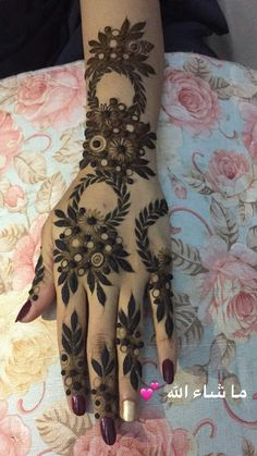 #Maha #Mehndi #Latest #Design 🐥❤ Modern Henna Designs, Floral Henna Designs, Arabic Henna Designs, Stylish Mehndi Designs, Wedding Mehndi Designs, Beautiful Henna Designs, Khafif Mehndi Design, Mehndi Designs Book, Mehndi Designs 2018