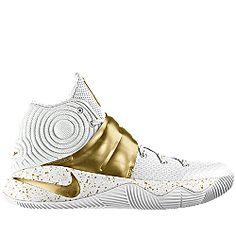 nike kyrie 2 gold white