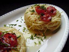 Voglia di primavera con gli spaghettini tricolore
