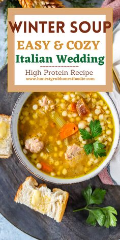 This is the Winter and Fall soup you need to me making pronto!! This clean dinner is something everyone in this family will love to meal prep. It is great for dinner during the week and to freeze for a dinner the following week.