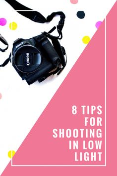 Do your own photography for your blog? Here's 8 Tips for taking awesome photos in low light situations!