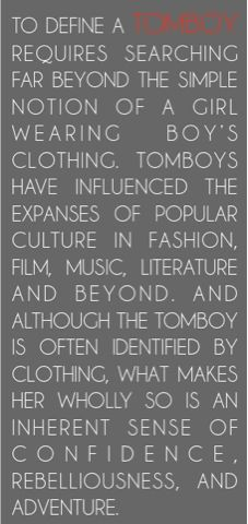 {Style} Tomboy style icon