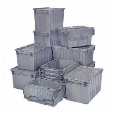 Quantum 8.75 Gallon Heavy Duty Attached Top Storage Container