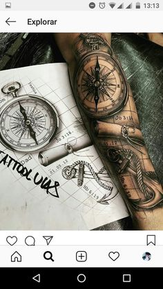 New Tattoo For Men Compass Half Sleeves Ideas - New Tattoo For Men Compa . - New Tattoo For Men Compass Half Sleeves Ideas – New Tattoo For Men Compass Half Sleeves Ideas - Ship Tattoo Sleeves, Arm Sleeve Tattoos, Tattoo Sleeve Designs, Forearm Tattoos, Tattoo Designs Men, Body Art Tattoos, Half Sleeve Tattoos For Men, Mens Half Sleeve, Ship Tattoos