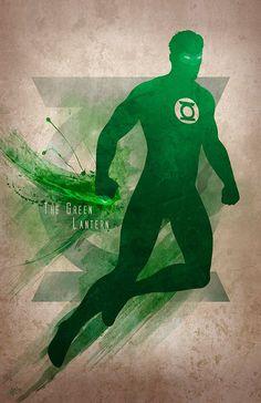 Green Lantern --Found on comic-view.tumblr.com