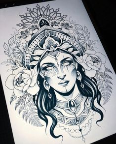 Kali Tattoo, Shiva Tattoo Design, Tattoo Bein, Mehndi Tattoo, Baby Tattoos, Body Art Tattoos, Girl Tattoos, Gear Tattoo, Arm Band Tattoo
