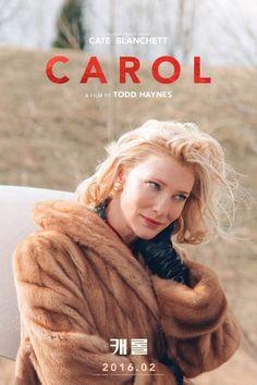 South Korean movie poster image for Carol The image measures 666 * 1000 pixels and is 626 kilobytes large. Love Movie, Movie Tv, Movie Scene, Transgender, Cate Blanchett Carol, Patricia Highsmith, Cinema Posters, Movie Posters, Cinema Film