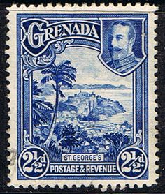 Grenada 1935 King George V Silver Jubilee Fine Used SG 146 Scott 125 Other Grenada Stamps HERE