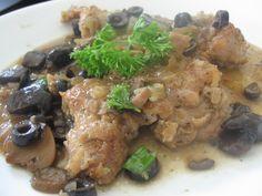 Chicken Marsala #italian #blueribbon