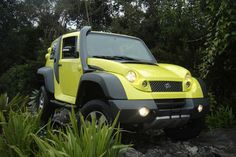 TAC eStark 4WD will swap diesel engine for electric motor.