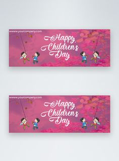 children's day facebook banner cartoon children,happy childrens day,childrens day,facebook cover, social media banner#Lovepik#template