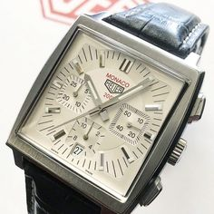 686 Likes, 11 Comments - Calibre 11 Tag Heuer Monaco, Fashion Watches, Tags, Instagram Posts, Silver, Accessories, Archive, Candy, Models