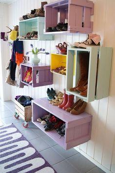 10 rangements pour chaussures de filles