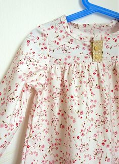 Košuľka Ruženka Šípkovie by iffi - SAShE.sk - Handmade Detské oblečenie