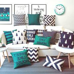 66 Ideas Living Room Red Pillows Pottery Barn For 2019 Bedroom Cushions, Living Room Decor Pillows, Floor Cushions, Sofa Pillows, Diy Room Decor, Cushions On Bed, Sofa Throw, Wall Decor, Throw Pillows