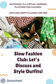 classic fashion outfits Week 5, Slow Fashion, Playing Dress Up, Sustainable Fashion, Art For Kids, Students, Arts And Crafts, Colours, Let It Be