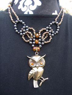 I love all these owls $16.95  www.etsy.com/shop/meandjpsjewelry