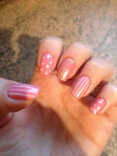 Gorgeous, girly nail art with Jessica GELeration.