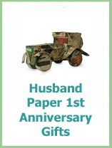 Paper 1st anniversary gifts for your husband