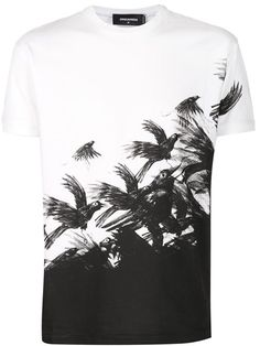 Comprar Dsquared2 bird print T-shirt en Atelier NY from the world's best independent boutiques at farfetch.com. Shop 300 boutiques at one address.