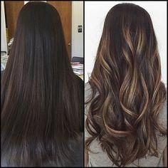 #HairbyBonnie #justblo #redkenobsessed #obsessed #longhair #balayage #darktolight #caramelhair #hairart #ACT #snapsnip #dimension