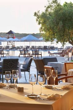 Kymata Restaurant serves Cretan cooking and Mediterranean gastronomic delights. #Jetsetter Westin Astir Palace Beach Resort