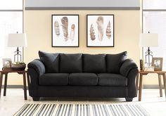 Darcy Black Sofa