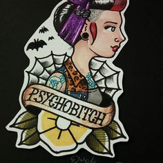 .Have a psychobitch in your life. . . . . . .#illustration #draw #instagood #drawing #tattoo #tattoogirl #oldschool #instaart #promarker #tattoolove #psychobilly #psychogirl #psychobillygirl #punk #punkgirl #fineart #creative #rockabilly #artbook #creepers #drawingoftheday #rockabillygirl #skatelove #goth #skateboard #girlswhittattoos #doodle #subculture #punkrock #rocknroll