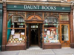Daunt Books, London | 19 Magical Bookshops Every Book Lover Must Visit