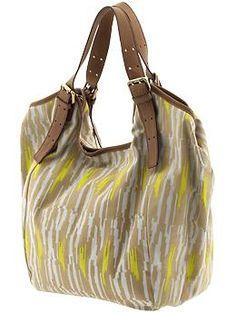 Cynthia Vincent Berkeley Ikat Bag. Love the print.