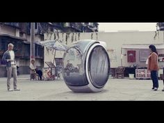 Volkswagen People's car project, Hover Car, the flying two-seater - YouTube