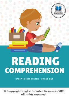 Grammar Skills, Writing Skills, Free Reading Comprehension Worksheets, English Resources, Kindergarten Reading, Learning Tools, English Language, Printable, English People