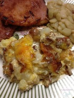 Southern Style Hashbrown Casserole