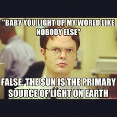 Hahaha ohh Dwightt