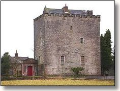 Closeburn Castle, Scotland...a.k.a. the Kirkpatrick Castle.  This is the castle of my ancestor, Sir Roger Kirkpatrick, who killed John The Red Comyn, so Robert Bruce could become King of Scotland.  I need to visit this....