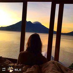 Follow @ez_c: #Sunrise #Lake #Atitlan #Guatemala #ILoveAtitlan #AmoAtitlan #Travel http://OkAtitlan.com